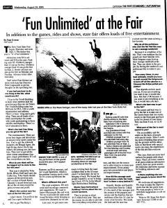 Syracuse Post Standard, August 24, 2005, Page 312