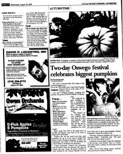 Syracuse Post Standard, August 24, 2005, Page 325