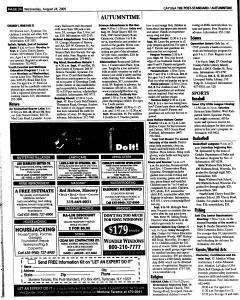 Syracuse Post Standard, August 24, 2005, Page 329