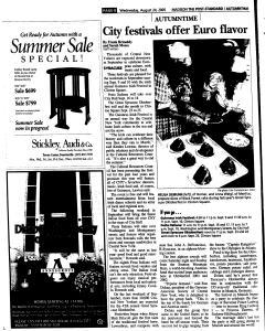 Syracuse Post Standard, August 24, 2005, Page 339
