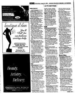 Syracuse Post Standard, August 24, 2005, Page 352