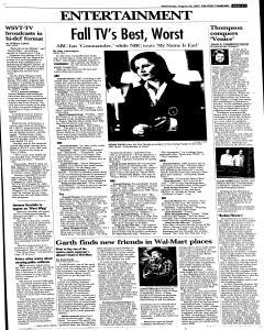 Syracuse Post Standard, August 24, 2005, Page 33