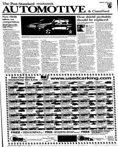 Syracuse Post Standard, August 24, 2005, Page 43