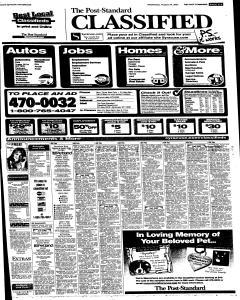 Syracuse Post Standard, August 24, 2005, Page 51