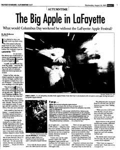 Syracuse Post Standard, August 24, 2005, Page 59