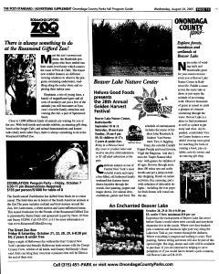 Syracuse Post Standard, August 24, 2005, Page 75