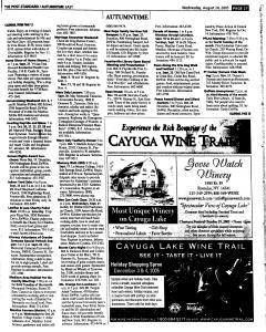 Syracuse Post Standard, August 24, 2005, Page 82