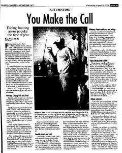 Syracuse Post Standard, August 24, 2005, Page 88