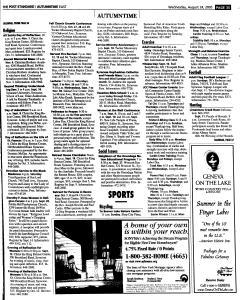 Syracuse Post Standard, August 24, 2005, Page 90