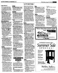 Syracuse Post Standard, August 24, 2005, Page 92