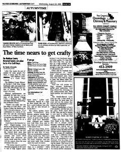 Syracuse Post Standard, August 24, 2005, Page 94