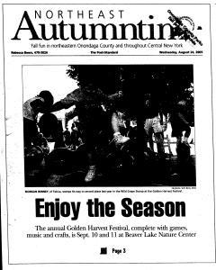 Syracuse Post Standard, August 24, 2005, Page 96