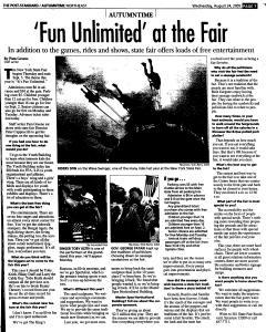 Syracuse Post Standard, August 24, 2005, Page 102