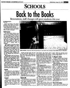 Syracuse Post Standard, August 24, 2005, Page 110