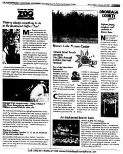 Syracuse Post Standard, August 24, 2005, Page 114
