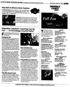 Syracuse Post Standard, August 24, 2005, Page 117