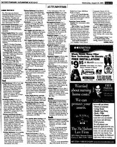 Syracuse Post Standard, August 24, 2005, Page 123