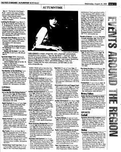 Syracuse Post Standard, August 24, 2005, Page 125
