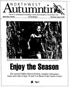 Syracuse Post Standard, August 24, 2005, Page 135