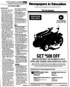 Syracuse Post Standard, August 24, 2005, Page 139