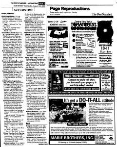 Syracuse Post Standard, August 24, 2005, Page 141