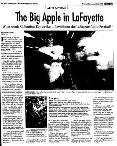 Syracuse Post Standard, August 24, 2005, Page 147