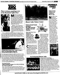 Syracuse Post Standard, August 24, 2005, Page 153