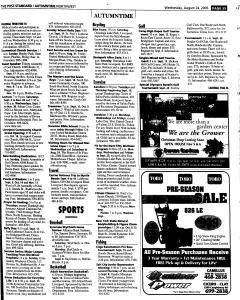 Syracuse Post Standard, August 24, 2005, Page 168