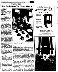 Syracuse Post Standard, August 24, 2005, Page 172