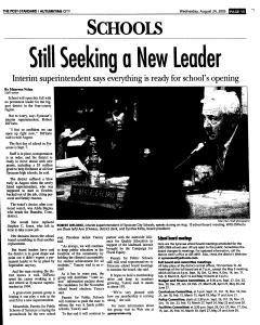 Syracuse Post Standard, August 24, 2005, Page 188