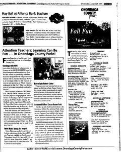 Syracuse Post Standard, August 24, 2005, Page 195