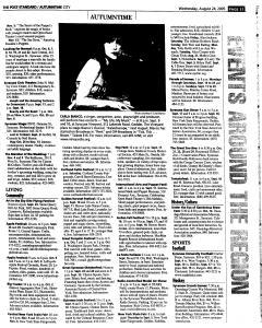 Syracuse Post Standard, August 24, 2005, Page 203