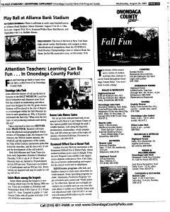Syracuse Post Standard, August 24, 2005, Page 234