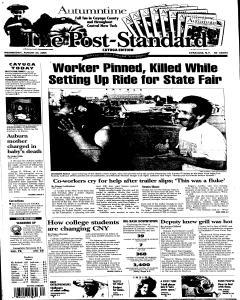 Syracuse Post Standard, August 24, 2005, Page 251