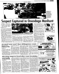 Syracuse Post Standard, August 24, 2005, Page 265