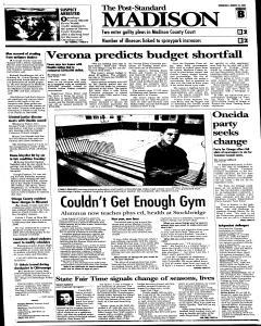 Syracuse Post Standard, August 24, 2005, Page 281