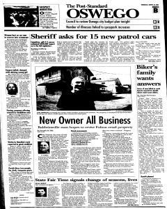 Syracuse Post Standard, August 24, 2005, Page 299