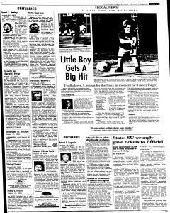 Syracuse Post Standard, August 24, 2005, Page 303