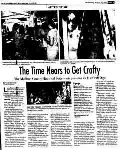 Syracuse Post Standard, August 24, 2005, Page 334