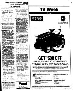 Syracuse Post Standard, August 24, 2005, Page 369