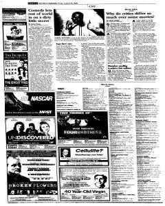 Syracuse Post Standard, August 26, 2005, Page 38