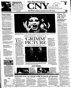 Syracuse Post Standard, August 26, 2005, Page 35