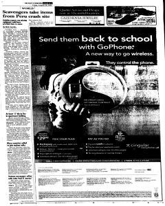 Syracuse Post Standard, August 26, 2005, Page 97