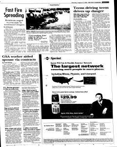 Syracuse Post Standard, August 27, 2005, Page 3