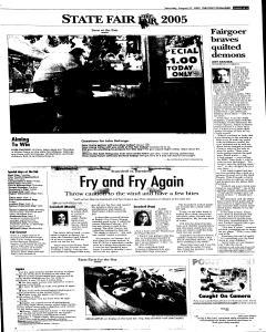 Syracuse Post Standard, August 27, 2005, Page 13