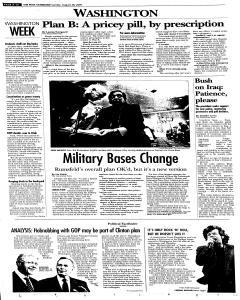 Syracuse Post Standard, August 28, 2005, Page 10