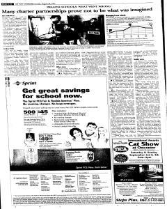 Syracuse Post Standard, August 28, 2005, Page 16