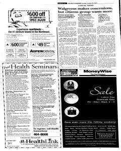 Syracuse Post Standard, August 28, 2005, Page 28