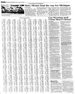 Syracuse Post Standard, August 28, 2005, Page 42