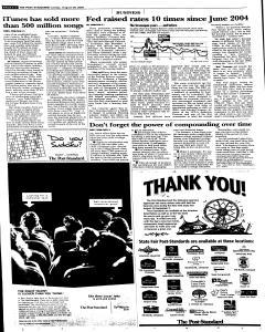 Syracuse Post Standard, August 28, 2005, Page 56